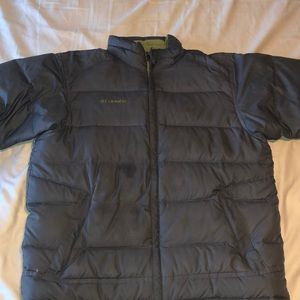Columbia down winter jacket
